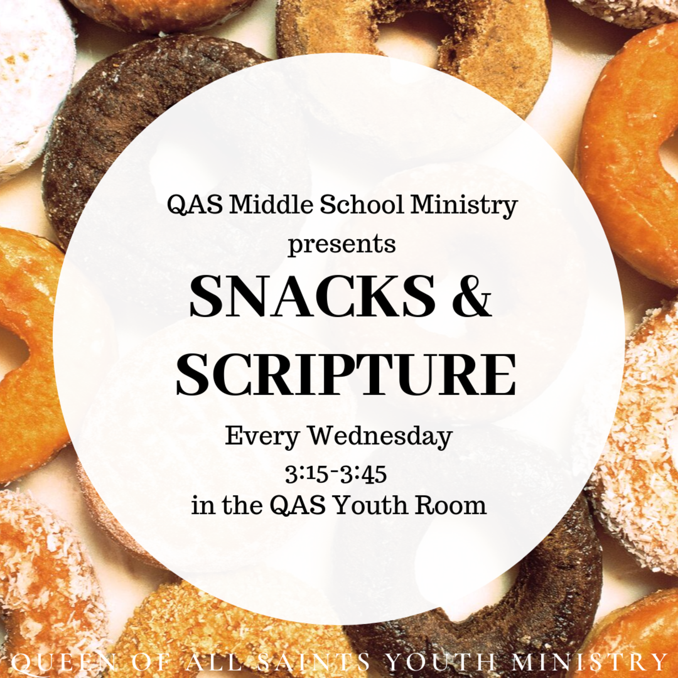 Snacks and Scripture