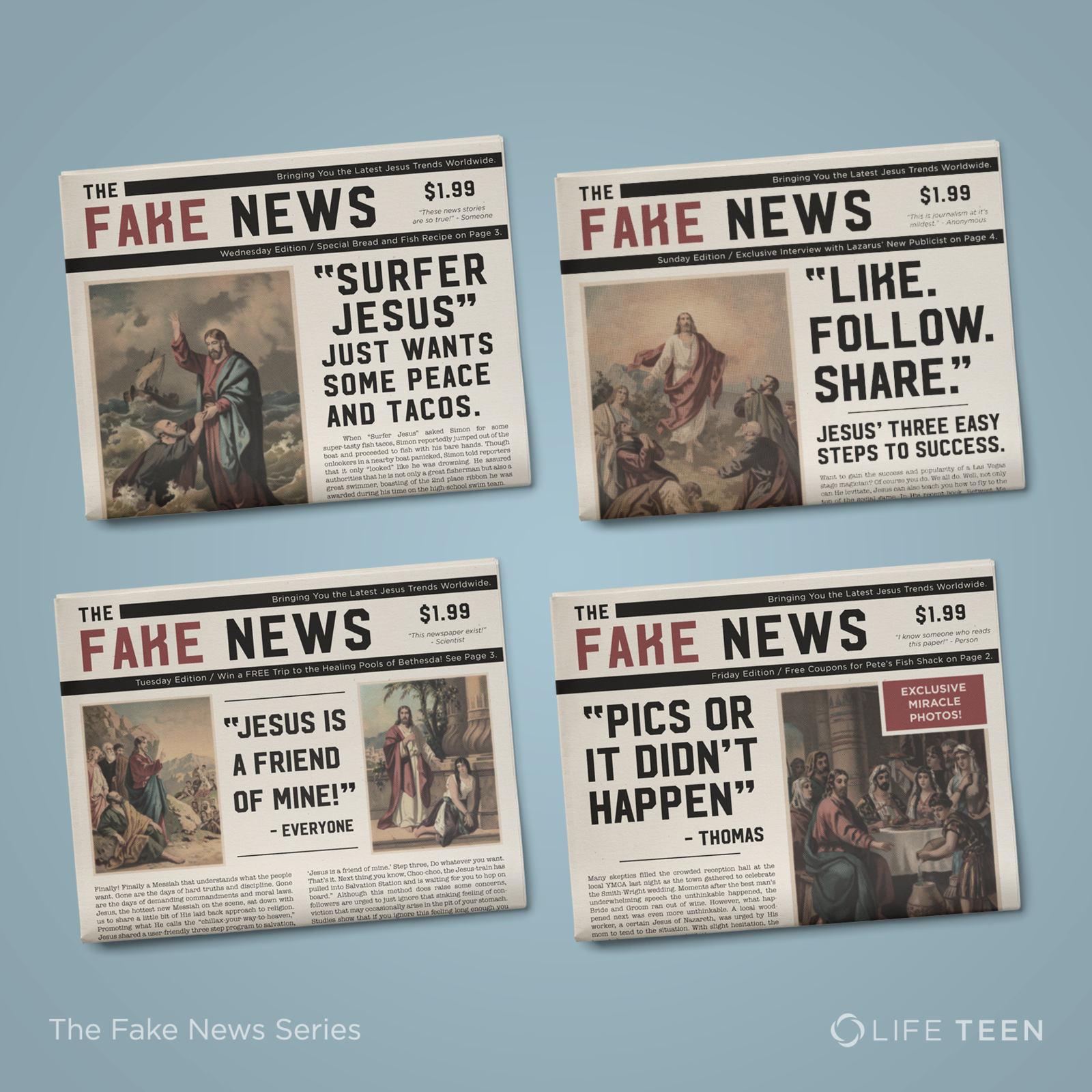 The Fake News Series   Social
