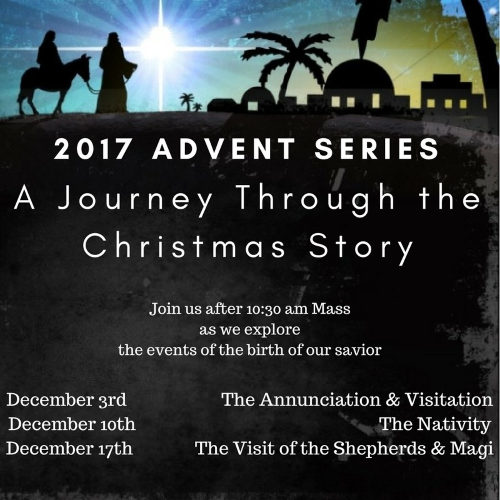2017 Advent Series Ad