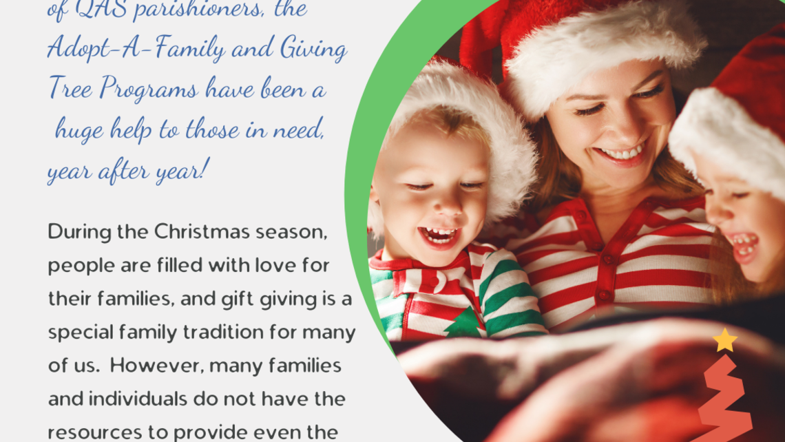 Adopt a Family and Giving Tree