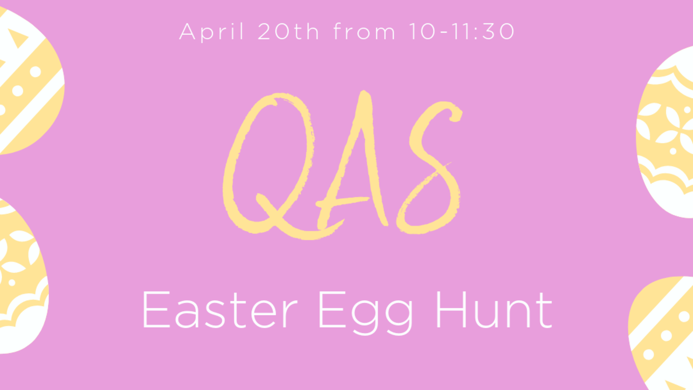 Annual Qas Easter Egg Hunt