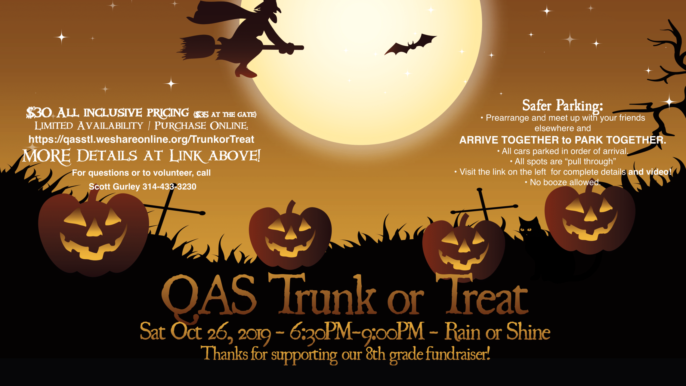 Trunk Or Treat @ QAS