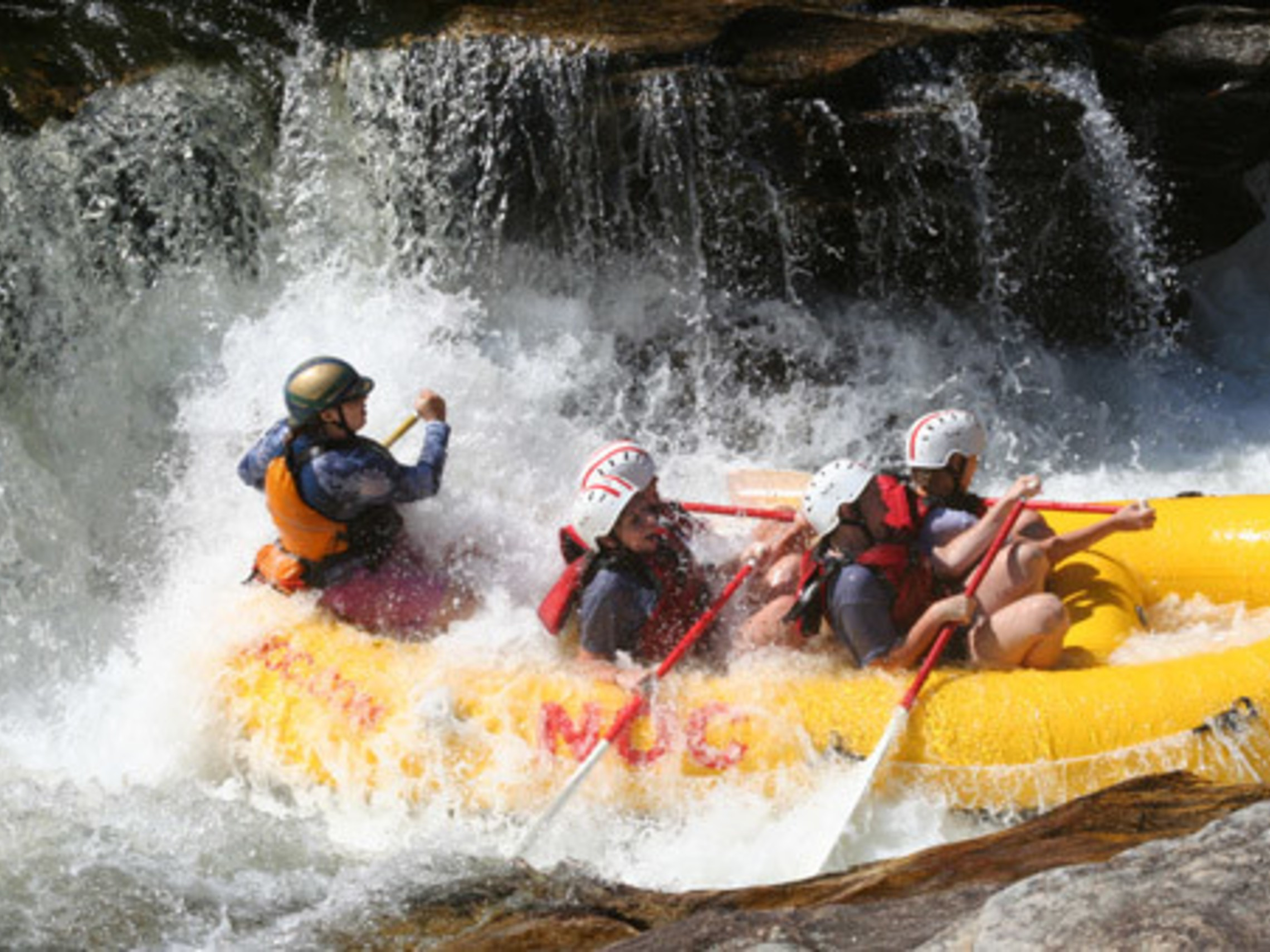 LT Summer Camp Whitewater Rafting
